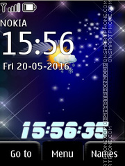 Clock theme screenshot