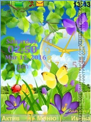 Bright colors tema screenshot