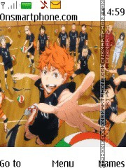 Haikyuu theme screenshot