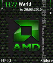 AMD tema screenshot