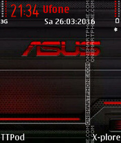 Asus tema screenshot
