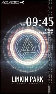 Linkin Park 15 theme screenshot