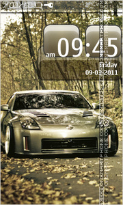Nissan 350Z 15 theme screenshot