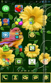 Spring Flowers 16 tema screenshot