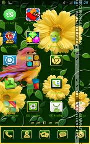 Spring Flowers 16 es el tema de pantalla