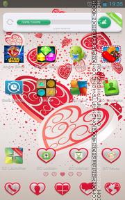 Tender Hearts es el tema de pantalla