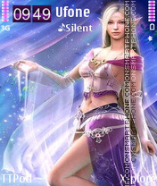Elf fairy tema screenshot