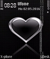 Silver Heart theme screenshot