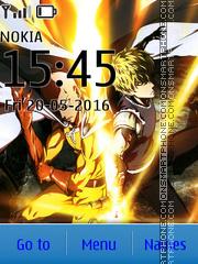 Saitama & Genos theme screenshot