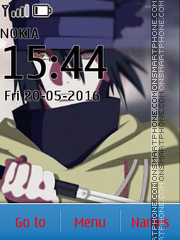Sasuke Naruto the Last tema screenshot