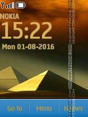 Piramid es el tema de pantalla