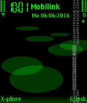 Quartz Green tema screenshot