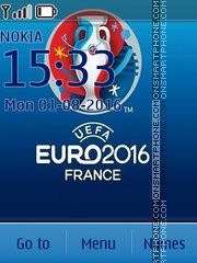Euro 2016 theme screenshot