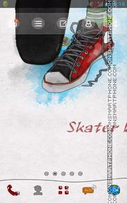 Skater Hip Hop es el tema de pantalla
