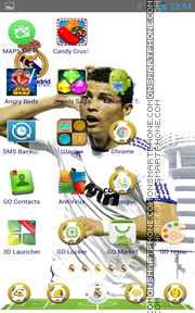 Real Madrid 2042 tema screenshot