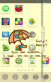 Rainy 01 theme screenshot