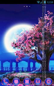 Cherry tree es el tema de pantalla