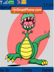 Croc theme screenshot