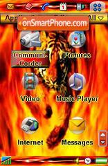 Bangol Tiger es el tema de pantalla