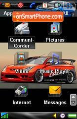 Import Racing P910 es el tema de pantalla