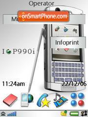 P990i Upgrade theme screenshot