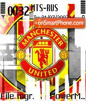 Manchester FC theme screenshot