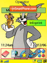 Tom And Jerry 01 theme screenshot