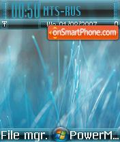 Vista Blue 01 es el tema de pantalla