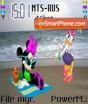 Disney Picnic theme screenshot