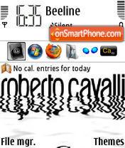 Fashion Roberto Cavalli theme screenshot