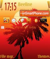 Palm es el tema de pantalla