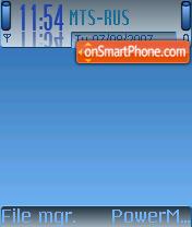 Blue Style 01 theme screenshot