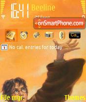 Deathly Hallows Harry Potter es el tema de pantalla