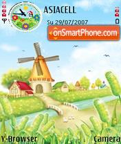 Holland theme screenshot