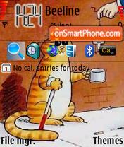 Poor Cat es el tema de pantalla