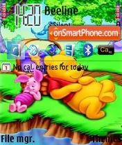 Sleeping Pooh es el tema de pantalla