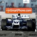 Bmw F1 Car es el tema de pantalla