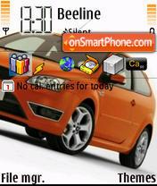 Focus XR5 Turbo es el tema de pantalla