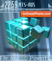 Abstract Theme theme screenshot