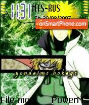 Yondaime Hokage theme screenshot