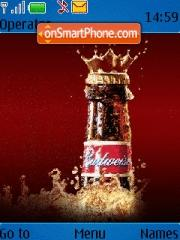 Budweiser 03 theme screenshot
