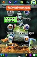 Frogs es el tema de pantalla