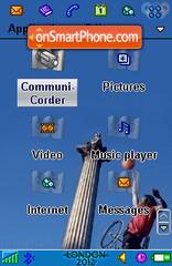 London 2012 II es el tema de pantalla