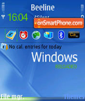Windows Reloaded es el tema de pantalla