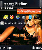 Carrie Stevens theme screenshot