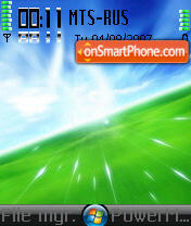 Vista Noicons theme screenshot