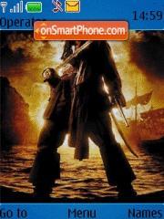 Jack Sparrow theme screenshot