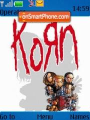 Korn 02 theme screenshot