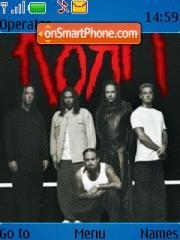 Korn 03 theme screenshot