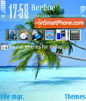 Palm Beach theme screenshot